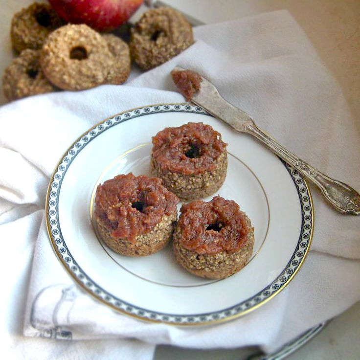 Apple Cinnamon Donuts. A reason to buy a donut pan. And they said ...