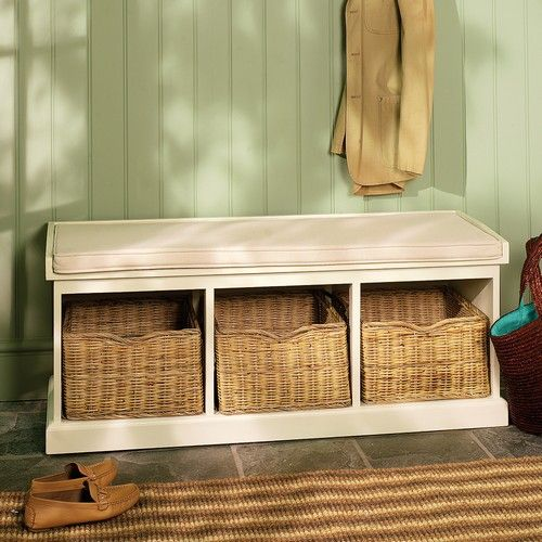 Our Tetbury White Hall Storage Bench Making An Entrance Pinterest