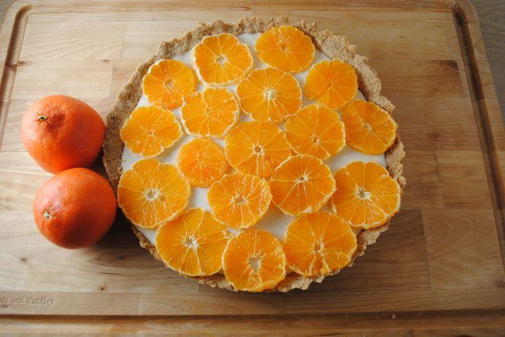 Fresh Orange and Yogurt Tart | In the kitchen | Pinterest