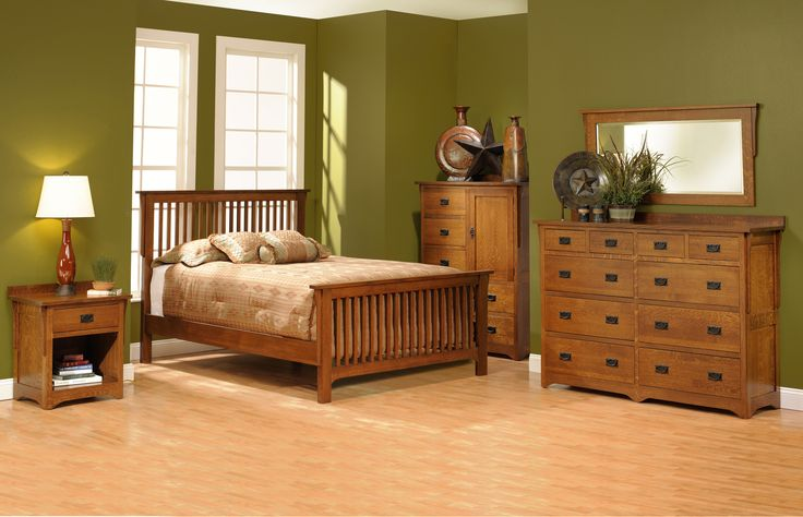 mission style bedroom set. craftsman style bedroom furniture,