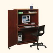 Locking Computer Desk Armoire | Home Inspirations | Pinterest