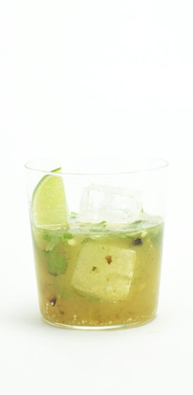 Green Mary Is Out Of Her Can - Tomatillo Bloody Mary with Jalapeno and ...