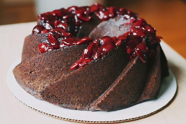 Chocolate red wine cake | wines | Pinterest