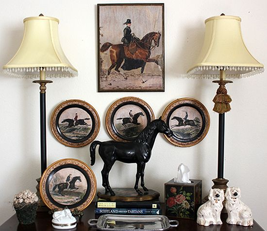 Robin King Designs: English Country Equestrian Style