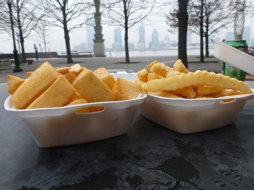 Yuca and Old Bay Seasoned Fries | We Ate That Recipes & Food Adventur ...