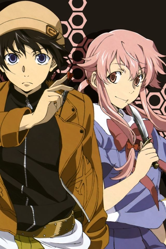 Yuki & Yuno   Mira... Future Diary Yuki