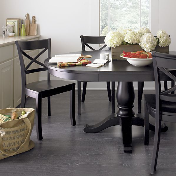 dining table avalon dining table crate and barrel. Black Bedroom Furniture Sets. Home Design Ideas