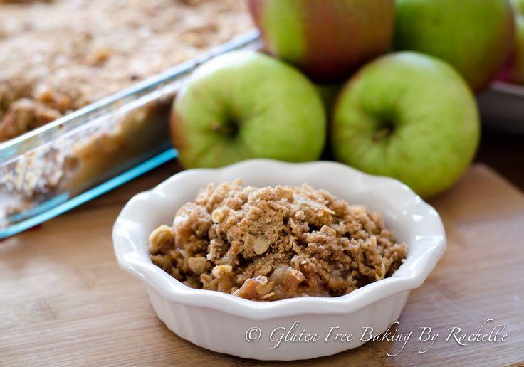 Gluten Free Baking By Rachelle: Gluten free Apple Crisp
