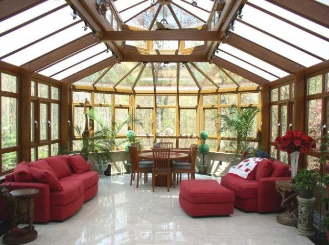 Sunroom window treatments bing images sun room and for Window covering ideas for sunrooms