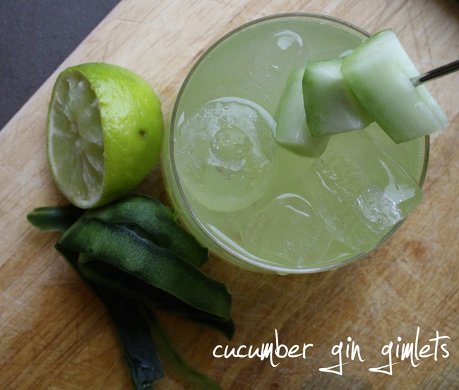 Cucumber Gin Gimlets | Cookin' and cleanin' | Pinterest