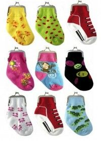 Baby Sock Coin Purse-in Coin Purses from Luggage & Bags on