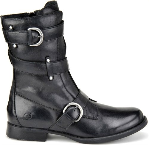 Utilitarian style.  Loving the Born Alamid motorcycle boot!  #boots #fashion #trends #utilitarian