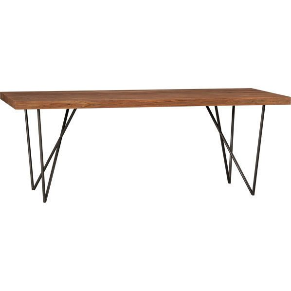 Dylan Dining Table By CB2 999 Furnishing Pinterest