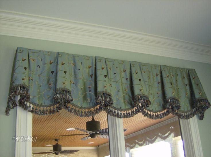 Custom window treatments valances pinterest for Custom window treatments