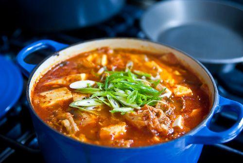 with tofu recette soupe kimchi kimchi kimchi jjigae kimchi stew kimchi ...