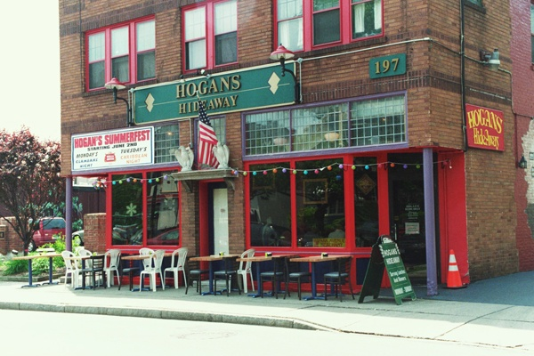 Hogan s hideaway rochester ny good for a beer in hand amp a book in