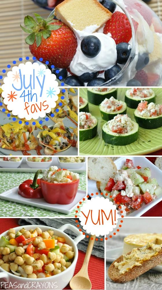 july 4th food recipes