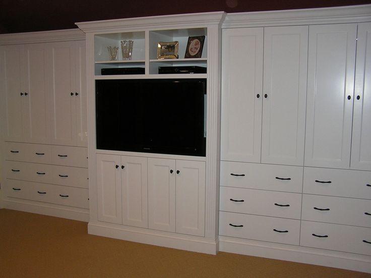 Custom made built in bedroom cabinetry master closet for Master bedroom cabinet