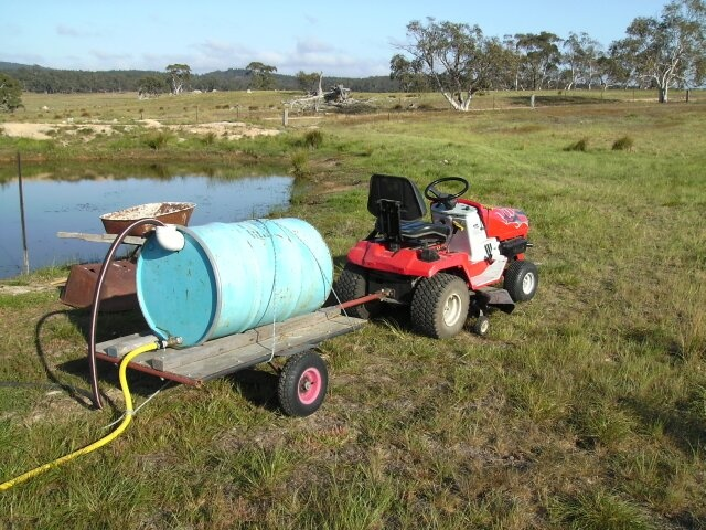 how to clean a potable water tank
