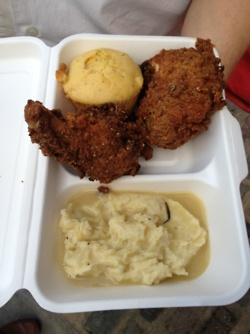 & Roast - Buttermilk Fried Chicken, Smoked Garlic Mash, Herb Gravy ...