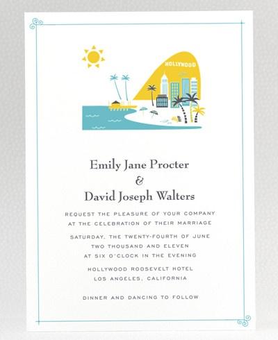 Wedding Invitations Los Angeles and get inspiration to create nice invitation ideas