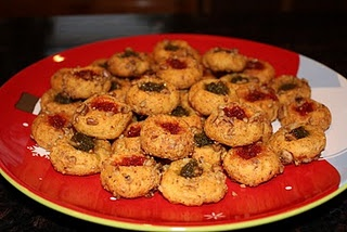 Cheese-Jalapeno Jelly Thumbprints | Time for dinner | Pinterest