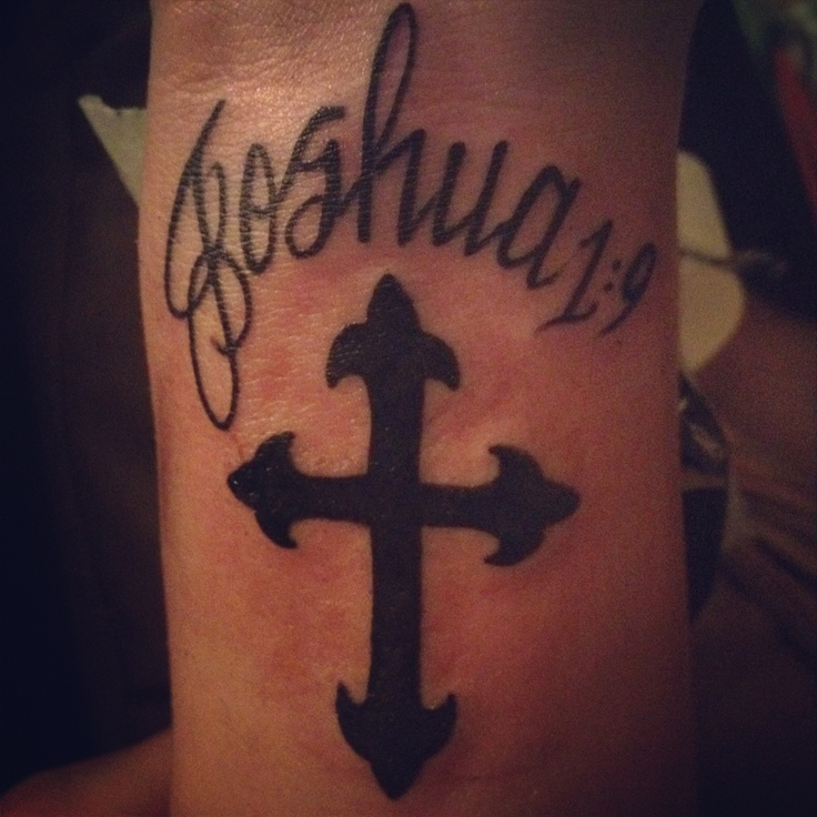 The gallery for joshua 19 tattoo for Joshua 1 9 tattoo
