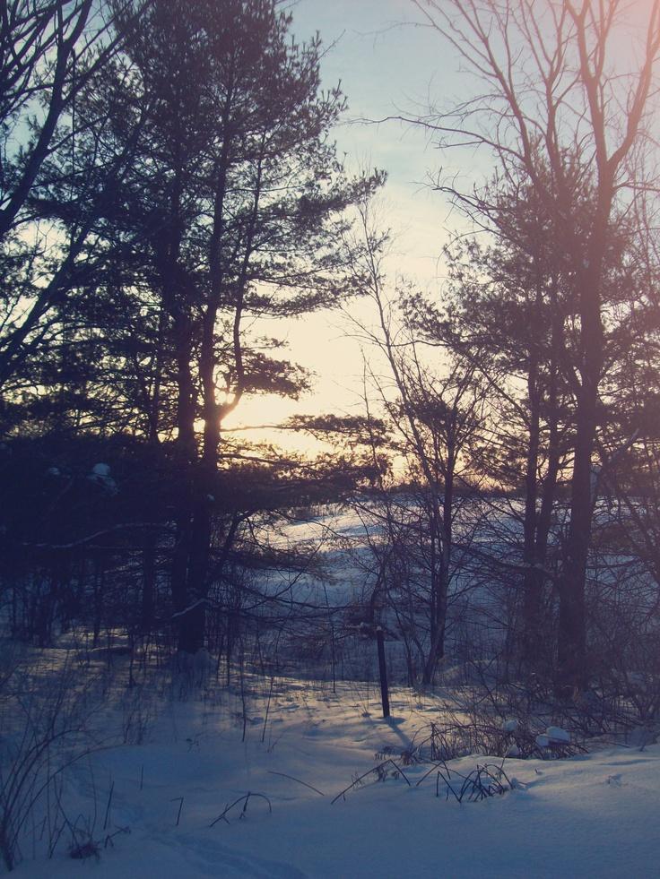 northern New York winter