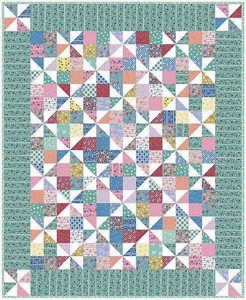 Quilt Patterns Pinwheel Blocks : pinwheel fancy quilt pattern Quilts & Sewing Pinterest
