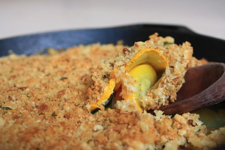 Summer squash gratin | Recipes to Try | Pinterest