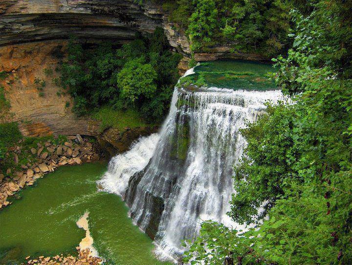 Burgess Falls Middle Tennessee Usa Waterfalls Pinterest