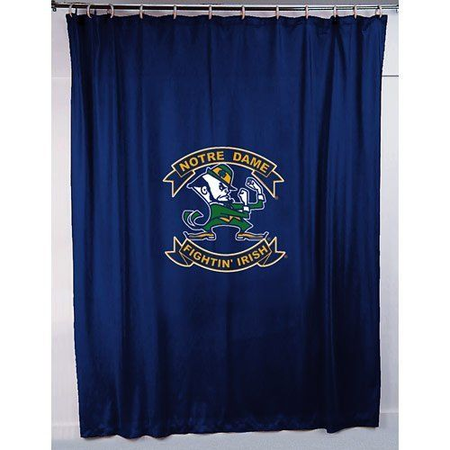... Dame Fighting Irish Shower Curtain. College Sports Shower Curtains