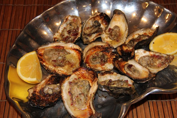 Grilled Oysters | Fish and Seafood | Pinterest