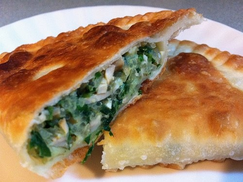 Chinese Chive And Pressed Tofu Turnover Recipes — Dishmaps