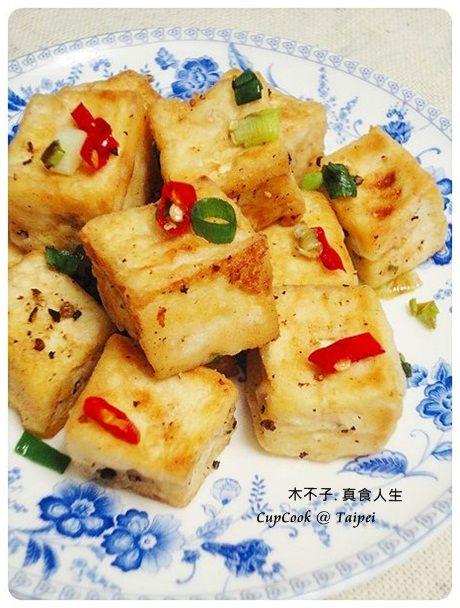 平底鍋家常菜】脆皮椒鹽豆腐 | Chinese food (in chinese ...