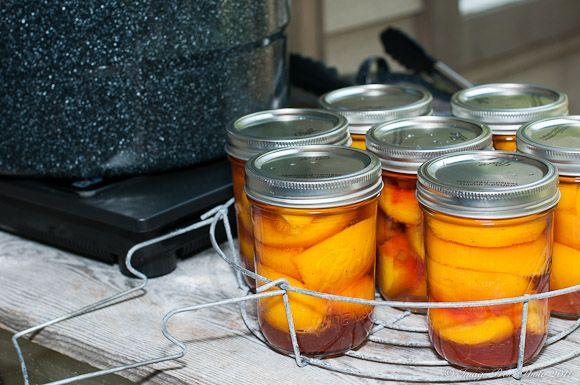 1951 Brandied Peaches Recipe — Dishmaps