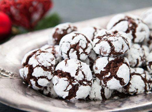 Chocolate Crinkles Cookies | Recipes/Food | Pinterest