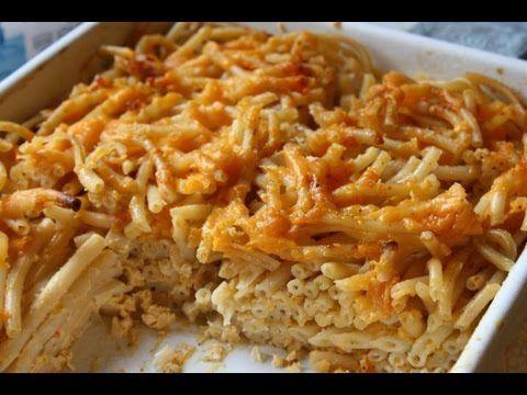 Macaroni Pie Recipe. - YouTube | Caribbean Delights | Pinterest