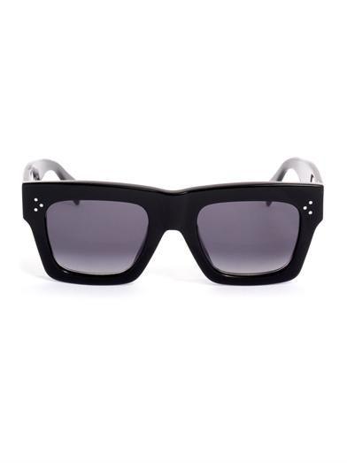 Shop now:  Céline Sqaure Acetate Sunglasses