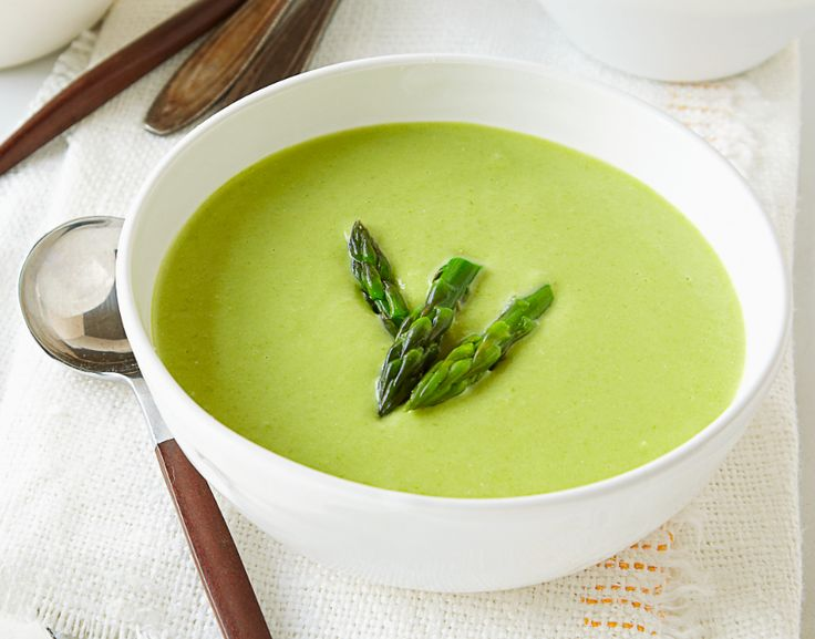 Creamy Asparagus Soup | Recipes | Pinterest