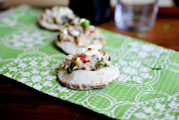 Skinny-Mini Tuna Melts by Simply Scratch using Star Extra Light Olive ...