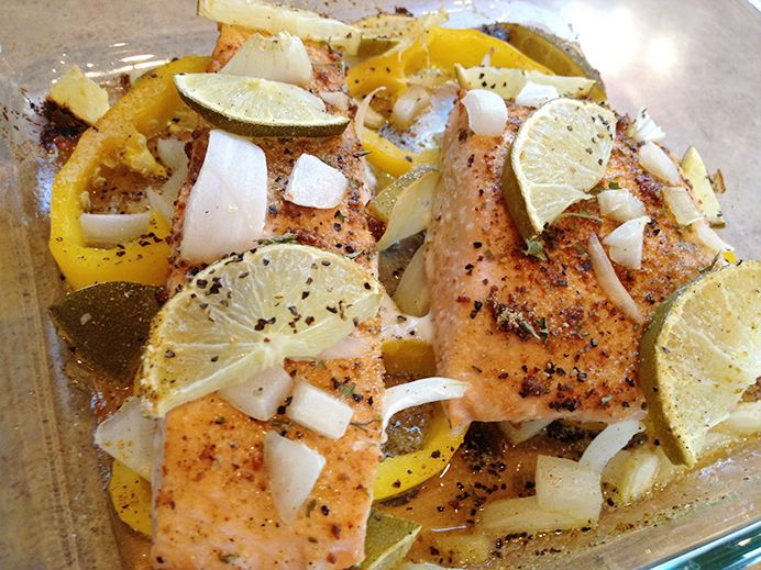 Chipotle Lime Salmon | wanna be foodie | Pinterest