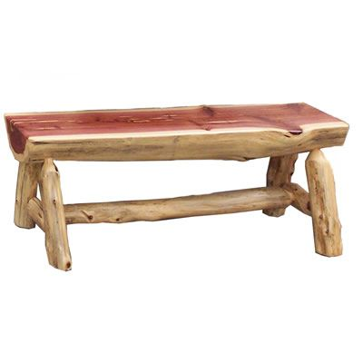 Half Log Bench Plans Car Interior Design