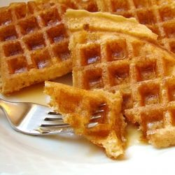 Waffles. Like the best parts of waffles and brioche having a baby