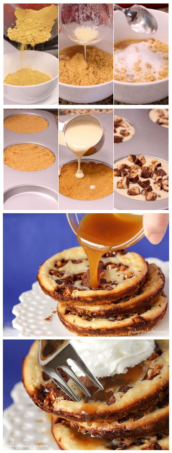 joysama images: Snickers Caramel Cheesecake Cookies