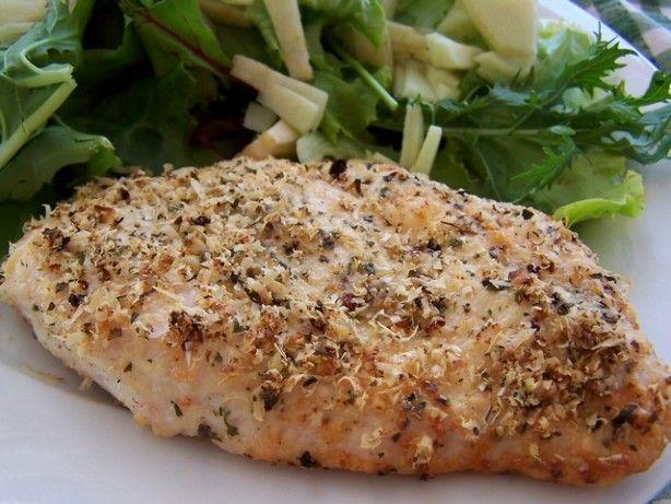 Easy Really Quick Parmesan-Garlic Chicken (Or Fish) | Recipe