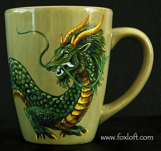dragon themed coffee mug cups and mugs pinterest