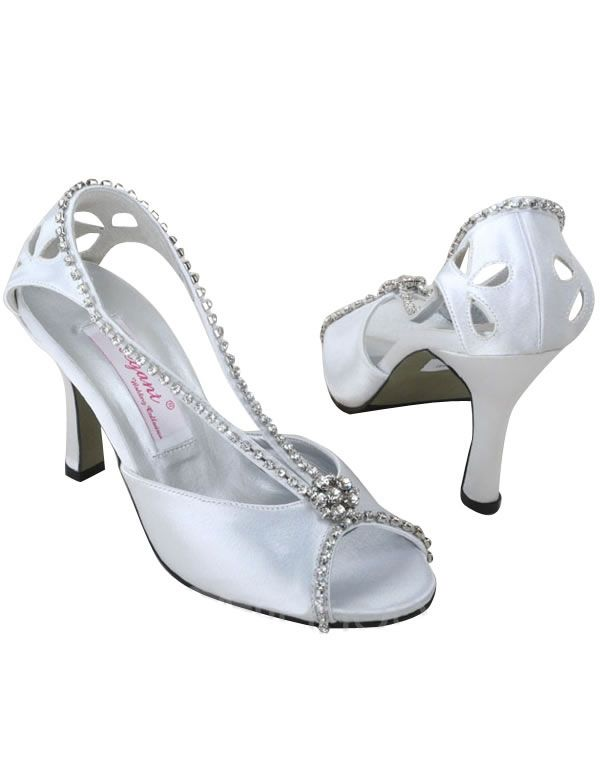 White Wedding Shoes for Women | White Wedding Shoes | Elegant Wedding