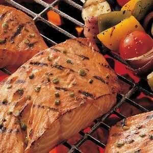 Honey Ginger Grilled Salmon Recipe | Meals | Pinterest