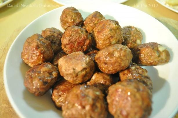 Danish Meatballs (Frikadeller). Photo by I'mPat
